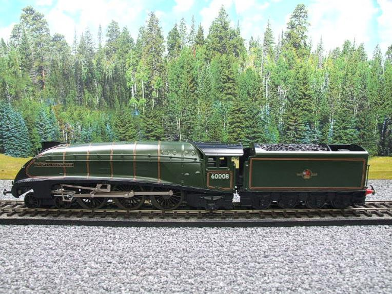 "Seven Mills O Gauge BR Green A4 Pacific ""Dwight D Eisenhower"" Loco & Tender R/N 60008 Elec 2/3 Rail image 21"