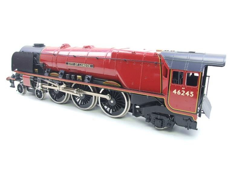 "Ace Trains O Gauge E12 BR  Duchess Pacific ""City Of London"" RN 46245 Electric 2/3 Rail Bxd image 12"