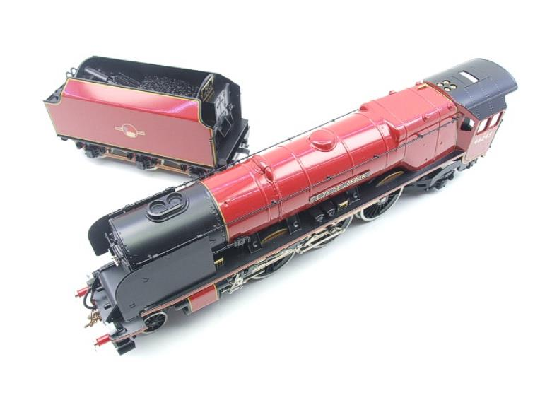 "Ace Trains O Gauge E12 BR  Duchess Pacific ""City Of London"" RN 46245 Electric 2/3 Rail Bxd image 14"