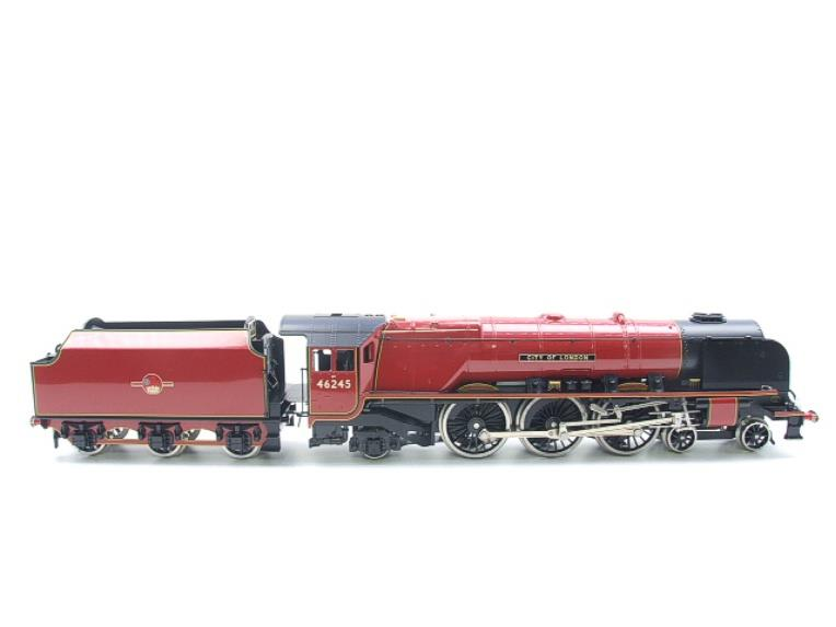 "Ace Trains O Gauge E12 BR  Duchess Pacific ""City Of London"" RN 46245 Electric 2/3 Rail Bxd image 21"
