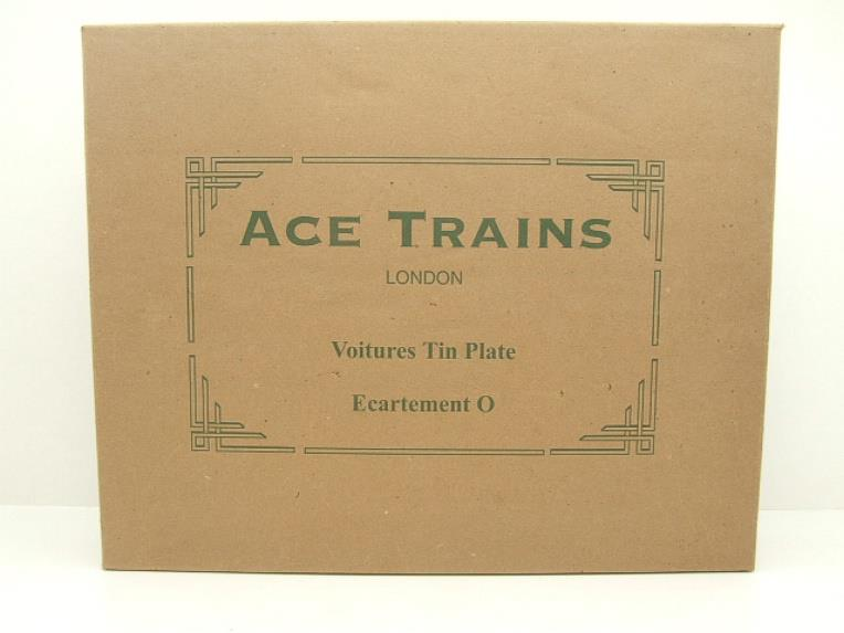 "Ace Trains French Edition O Gauge French ""Nord"" C1 Passenger Coaches x3 Set Boxed image 12"