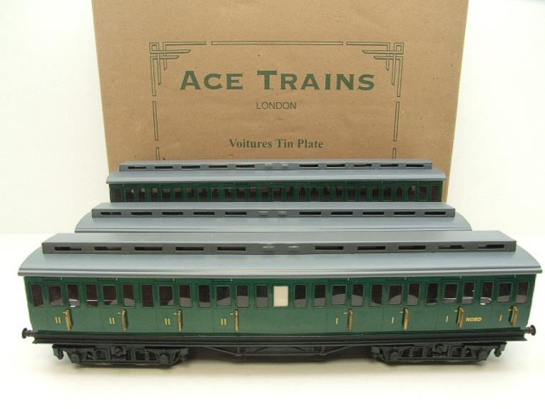 "Ace Trains French Edition O Gauge French ""Nord"" C1 Passenger Coaches x3 Set Boxed image 16"