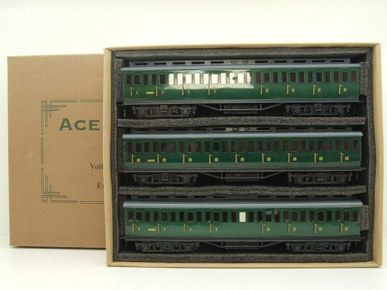 "Ace Trains French Edition O Gauge French ""Nord"" C1 Passenger Coaches x3 Set Boxed image 20"