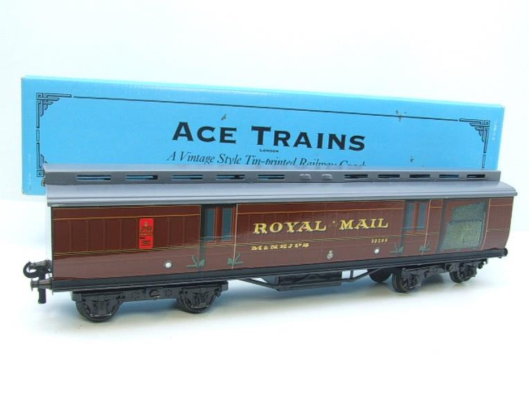 Ace Trains O Gauge LMS / MR Brian Wright Overlay Series TPO Mail Coach RN 30285 image 20