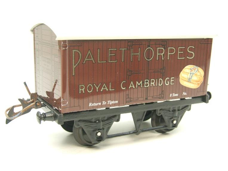 "Horton Series O Gauge Private Owner ""Palethorpes Royal Cambridge"" Van Boxed image 11"