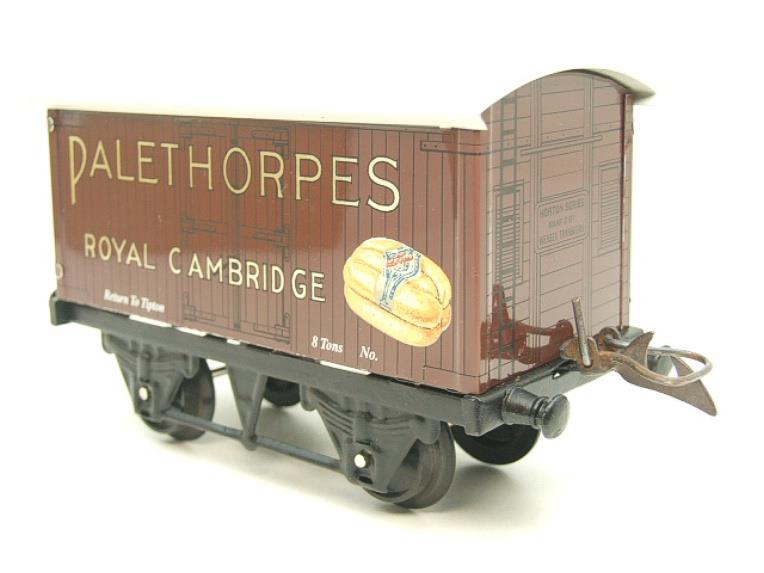 "Horton Series O Gauge Private Owner ""Palethorpes Royal Cambridge"" Van Boxed image 14"