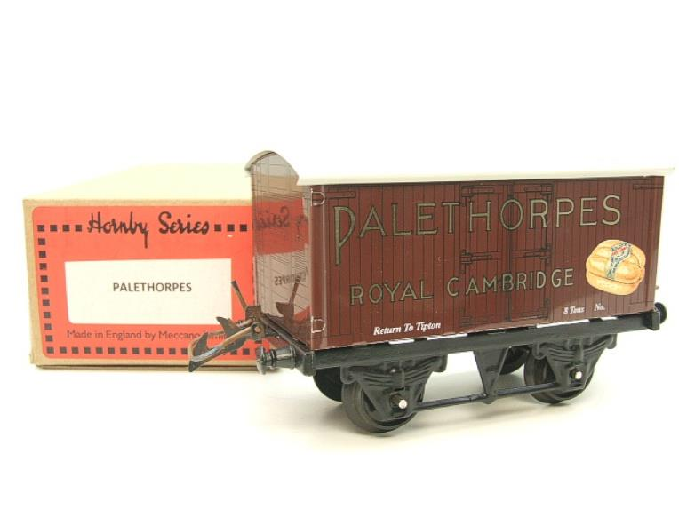 "Horton Series O Gauge Private Owner ""Palethorpes Royal Cambridge"" Van Boxed image 15"