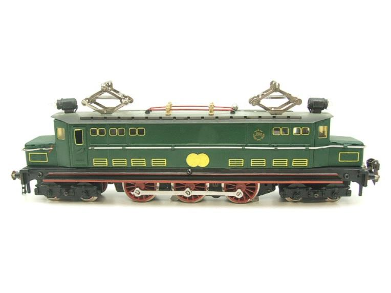 Paya Spain O Gauge 4-6-4 Green Overhead Electric 3 Rail Loco image 13