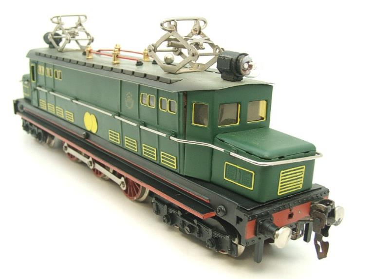 Paya Spain O Gauge 4-6-4 Green Overhead Electric 3 Rail Loco image 14
