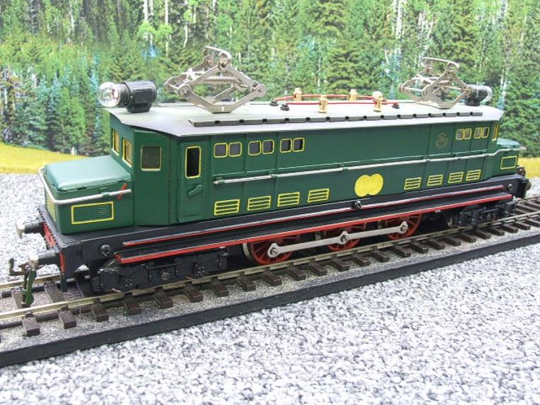 Paya Spain O Gauge 4-6-4 Green Overhead Electric 3 Rail Loco image 15