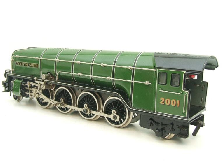 "Hehr O Gauge L70-12920 LNER ""2001"" Cock O The North"" 2-8-2 Loco & Tender Electric 20v 3 Rail image 12"