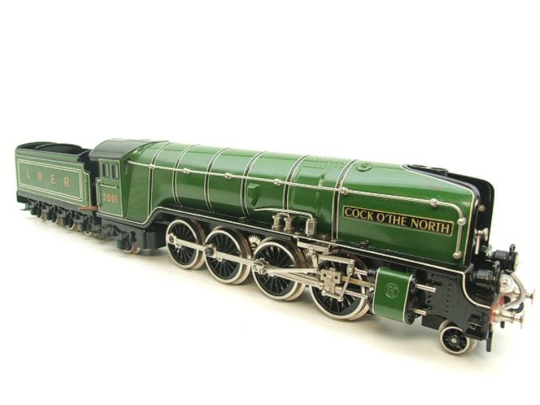 "Hehr O Gauge L70-12920 LNER ""2001"" Cock O The North"" 2-8-2 Loco & Tender Electric 20v 3 Rail image 21"