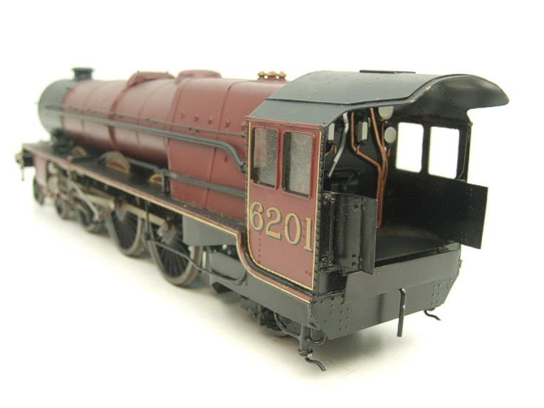 "Brass Kit Built O Gauge LMS Princess Class ""Princess Elizabeth"" R/N 6201 Electric 2 Rail Fine Scale image 12"