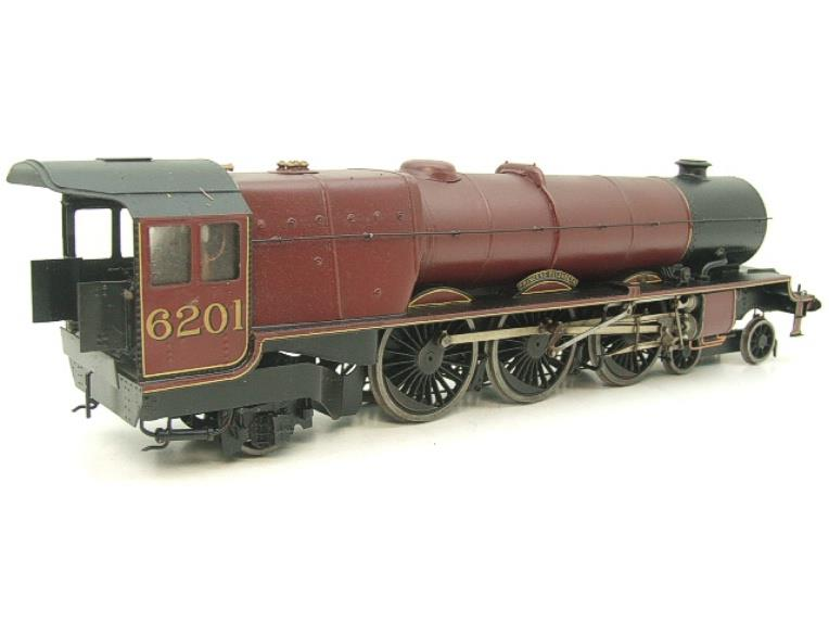 "Brass Kit Built O Gauge LMS Princess Class ""Princess Elizabeth"" R/N 6201 Electric 2 Rail Fine Scale image 13"