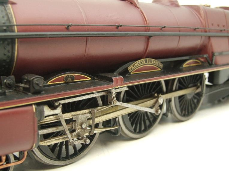 "Brass Kit Built O Gauge LMS Princess Class ""Princess Elizabeth"" R/N 6201 Electric 2 Rail Fine Scale image 16"