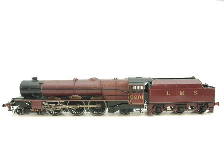 "Brass Kit Built O Gauge LMS Princess Class ""Princess Elizabeth"" R/N 6201 Electric 2 Rail Fine Scale image 20"