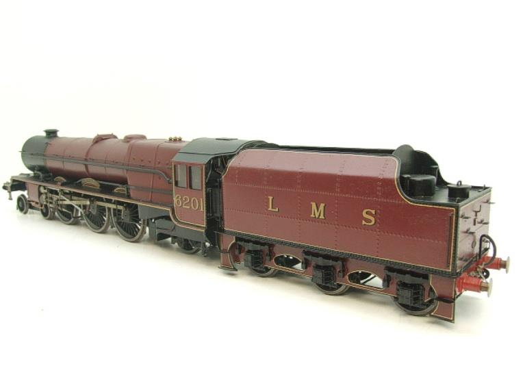 "Brass Kit Built O Gauge LMS Princess Class ""Princess Elizabeth"" R/N 6201 Electric 2 Rail Fine Scale image 21"