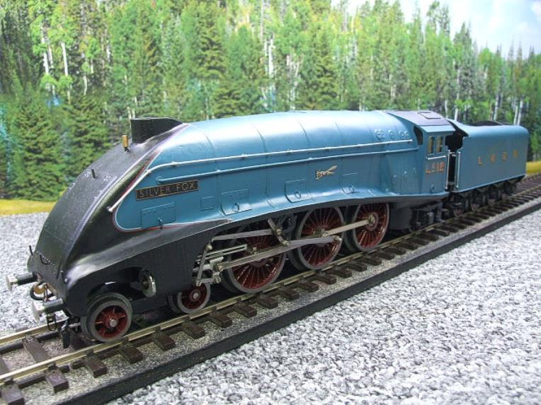 "Tower Models O Gauge LNER A4 Post War Pacific Class 4-6-2 ""Silver Fox"" R/N 2512 Electric 3 Rail image 11"