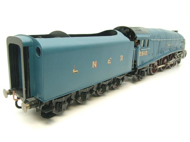 "Tower Models O Gauge LNER A4 Post War Pacific Class 4-6-2 ""Silver Fox"" R/N 2512 Electric 3 Rail image 21"