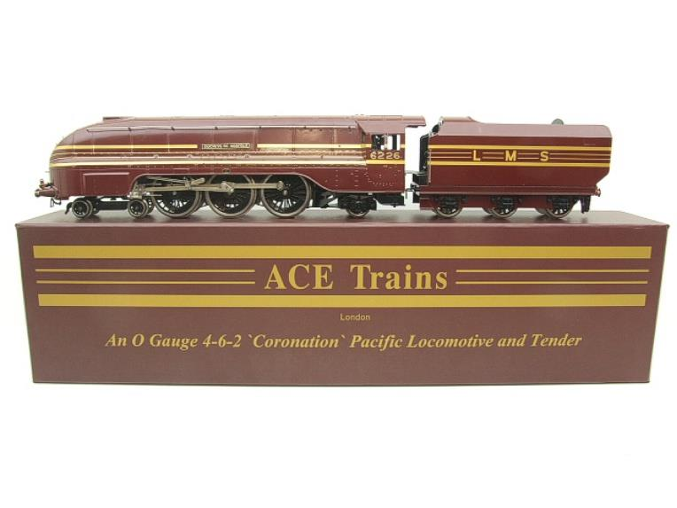 "Ace Trains E12B1S Coronation Pacific LMS ""Duchess of Norfolk"" R/N 6226 Electric 2/3 Rail Bxd image 11"