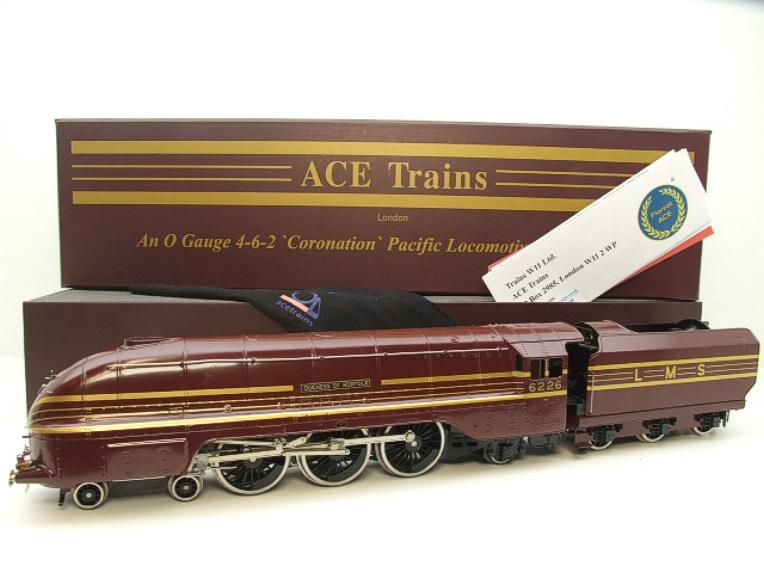 "Ace Trains E12B1S Coronation Pacific LMS ""Duchess of Norfolk"" R/N 6226 Electric 2/3 Rail Bxd image 22"