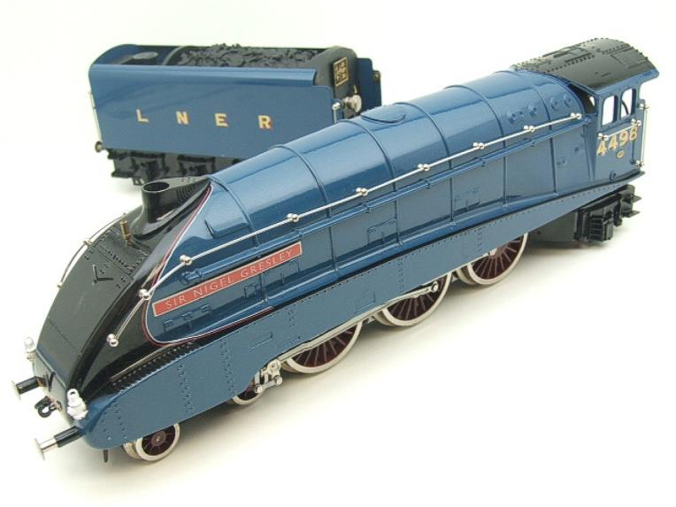 "Ace Trains O Gauge A4 Pacific LNER Blue ""Sir Nigel Gresley"" R/N 4498 Electric Boxed image 15"