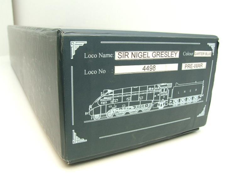 "Ace Trains O Gauge A4 Pacific LNER Blue ""Sir Nigel Gresley"" R/N 4498 Electric Boxed image 18"