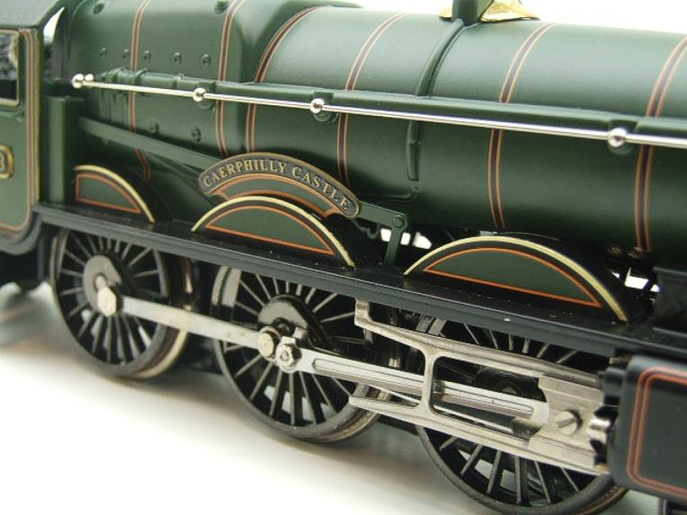 "Ace Trains Darstaed O Gauge GWR Castle Class ""Caerphilly Castle"" R/N 4073 Elec 3 Rail Bxd image 16"