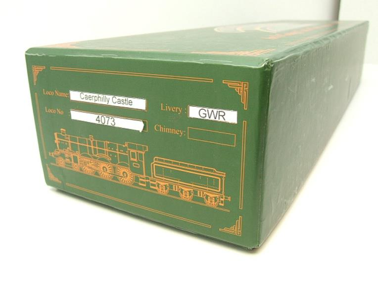 "Ace Trains Darstaed O Gauge GWR Castle Class ""Caerphilly Castle"" R/N 4073 Elec 3 Rail Bxd image 17"