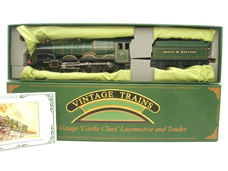 "Ace Trains Darstaed O Gauge GWR Castle Class ""Caerphilly Castle"" R/N 4073 Elec 3 Rail Bxd image 18"