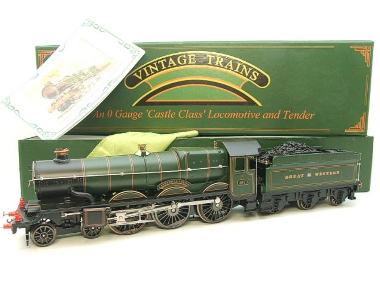 "Ace Trains Darstaed O Gauge GWR Castle Class ""Caerphilly Castle"" R/N 4073 Elec 3 Rail Bxd image 22"