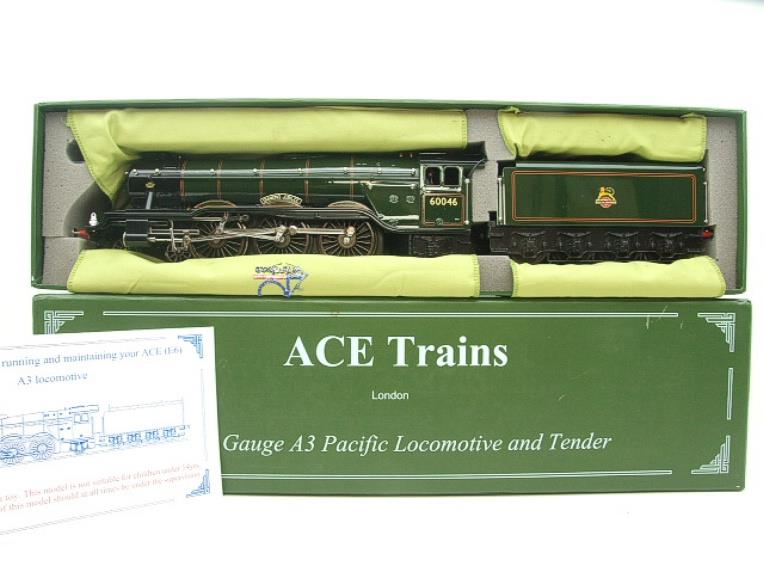 "Ace Trains O Gauge E/6 A3 Pacific Class BR ""Diamond Jubilee"" R/N 60046 Electric 3 Rail Boxed image 17"