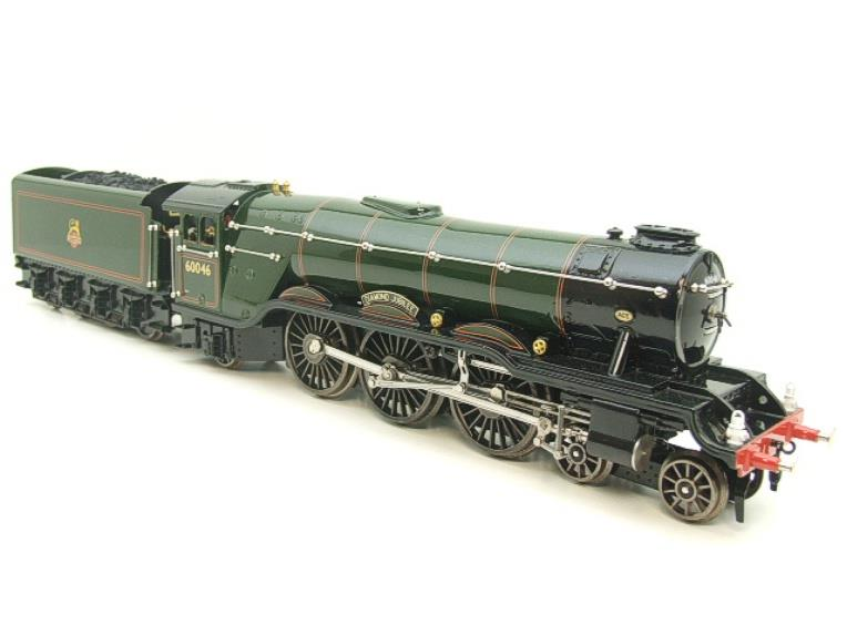 "Ace Trains O Gauge E/6 A3 Pacific Class BR ""Diamond Jubilee"" R/N 60046 Electric 3 Rail Boxed image 20"