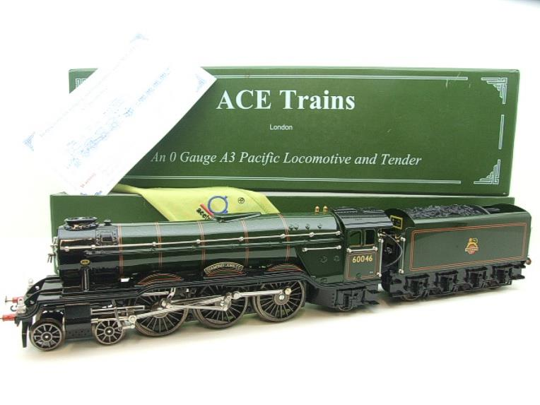 "Ace Trains O Gauge E/6 A3 Pacific Class BR ""Diamond Jubilee"" R/N 60046 Electric 3 Rail Boxed image 22"