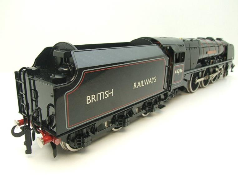 "Ace Trains O Gauge E12S BR Black Duchess Class ""City of Manchester"" R/N 46246 Electric 2/3 Rail Bxd image 18"