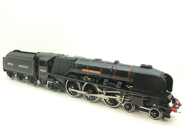 "Ace Trains O Gauge E12S BR Black Duchess Class ""City of Manchester"" R/N 46246 Electric 2/3 Rail Bxd image 19"