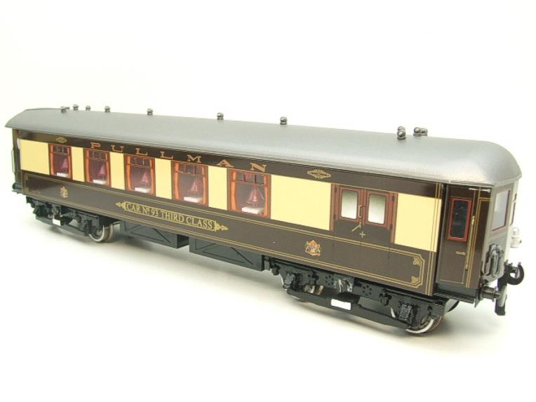 "Darstaed O Gauge ""Brighton Belle"" x6 Pullman Coaches Set Electric 3 Rail  Boxed image 12"