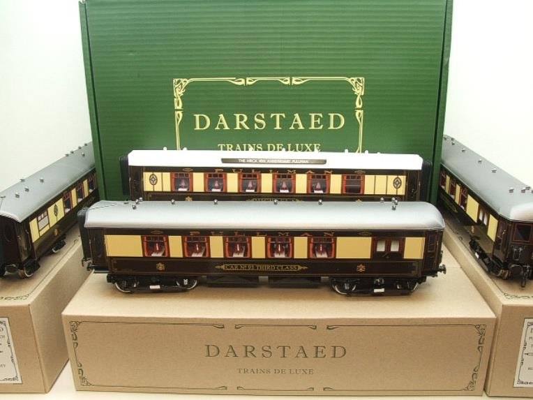 "Darstaed O Gauge ""Brighton Belle"" x6 Pullman Coaches Set Electric 3 Rail  Boxed image 21"
