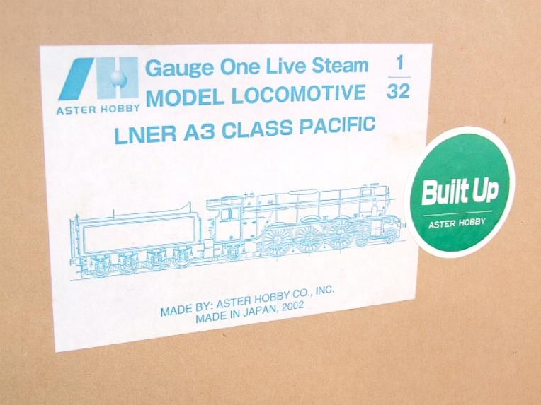 "Gauge 1 Aster LNER A3 Class Pacific ""Flying Scotsman"" R/N 4472 Live Steam MINT Boxed image 19"