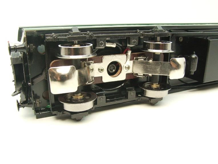 Darstaed O Gauge SR Green Bulleid Corridor Brake End Coach R/N 4301 Lit Interior image 15