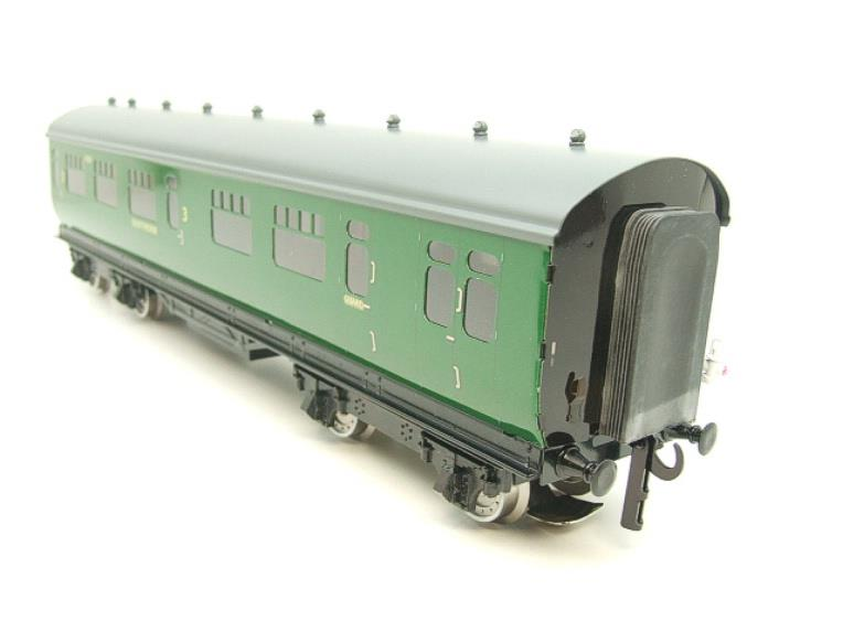 Darstaed O Gauge SR Green Bulleid Corridor Brake End Coach R/N 4301 Lit Interior image 17