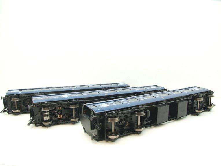 Ace Trains O Gauge C20-A LMS Blue Coronation Scot x3 Coaches 2/3 Rail Set A image 14