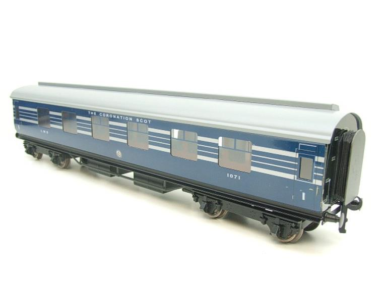 Ace Trains O Gauge C20-A LMS Blue Coronation Scot x3 Coaches 2/3 Rail Set A image 19