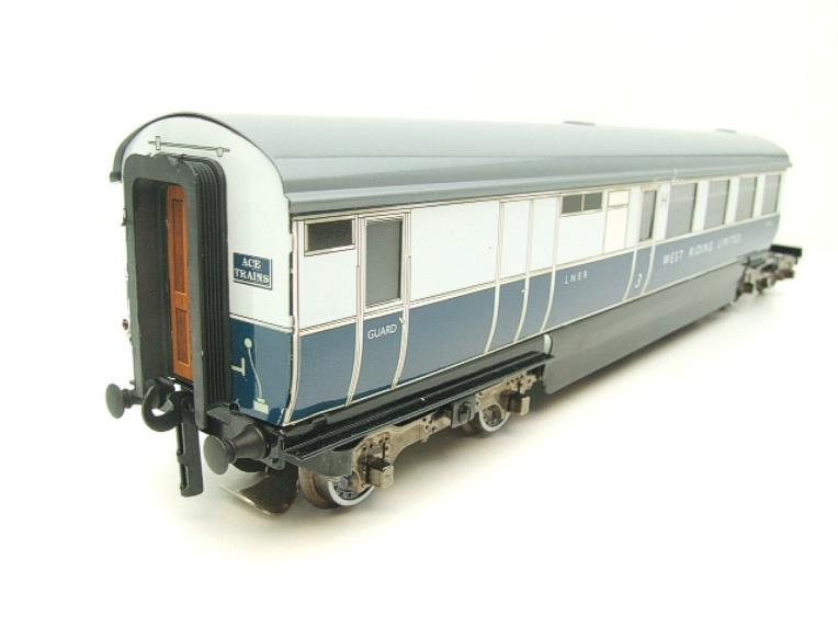 "Ace Trains O Gauge C9 LNER ""West Riding Limited"" Articulated x6 Coaches As NEW Boxed image 15"