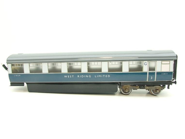 "Ace Trains O Gauge C9 LNER ""West Riding Limited"" Articulated x6 Coaches As NEW Boxed image 16"