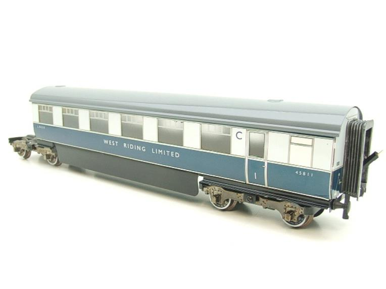 "Ace Trains O Gauge C9 LNER ""West Riding Limited"" Articulated x6 Coaches As NEW Boxed image 17"