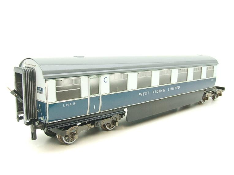 "Ace Trains O Gauge C9 LNER ""West Riding Limited"" Articulated x6 Coaches As NEW Boxed image 19"
