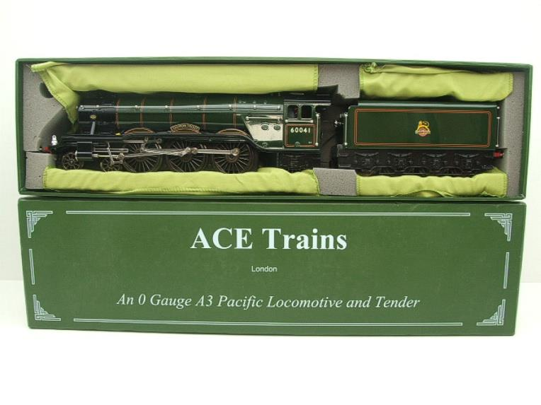 "Ace Trains O Gauge E/6 A3 Pacific Class BR ""Salmon Trout"" R/N 600041 Electric 3 Rail Boxed image 17"