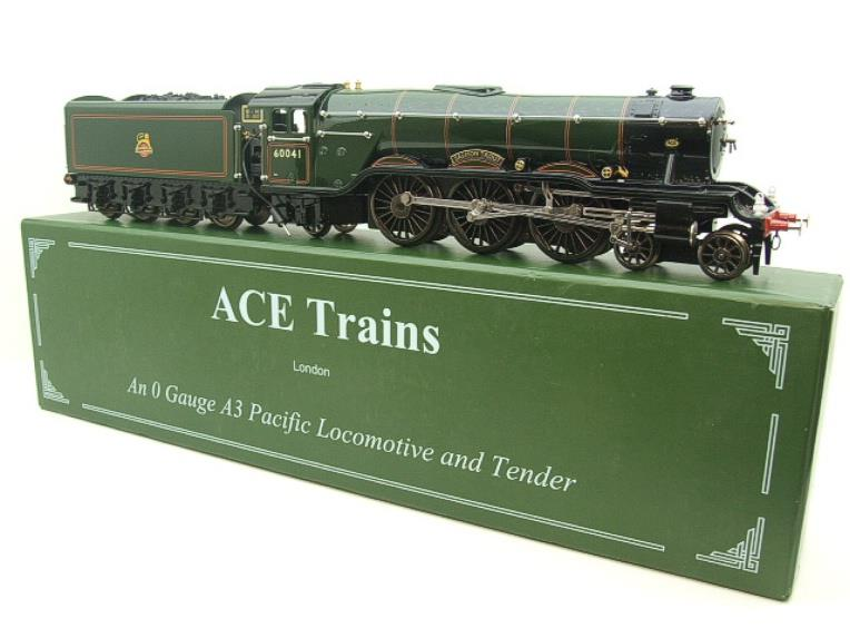 "Ace Trains O Gauge E/6 A3 Pacific Class BR ""Salmon Trout"" R/N 600041 Electric 3 Rail Boxed image 20"