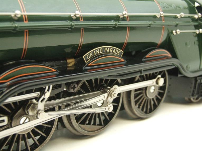 "Ace Trains O Gauge E6 A3 Pacific BR Green ""Grand Parade"" R/N 60090 Boxed 3 Rail image 16"